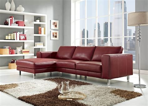 stylish sectionals 18 stylish modern red sectional sofas