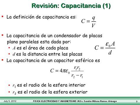 capacitor esferico pdf capacitor esferico definicion 28 images capacitancia y capacitores capacitancia 1