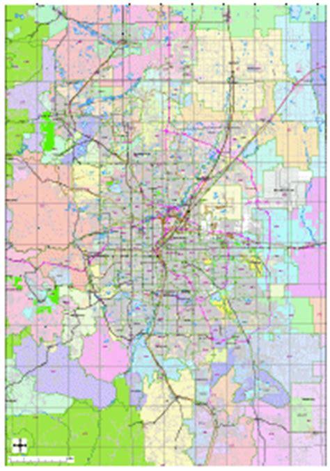 zip code map hton roads editable denver metro area map with roads highways