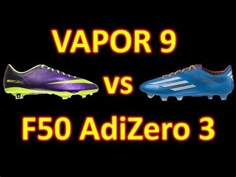 imagenes nike vs adidas nike mercurial vapor 9 vs adidas f50 adizero micoach 3