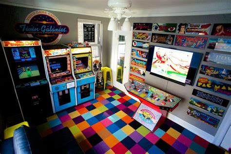 the bedroom game man turns bedroom into 1980s arcade loses fiance
