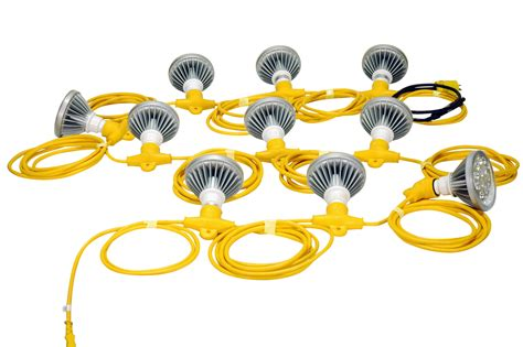 construction string lighting 250 watt temporary construction led string lights released