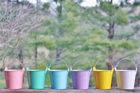 Miniatur Buket mini favor buckets outlet