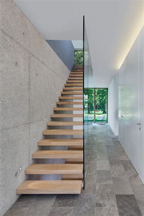 contemporary staircase 25 best ideas about floating stairs on pinterest