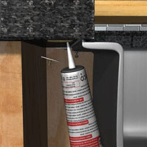 Undermount Sink Adhesive by Bfd Rona Products Diy Install Undermount Sink In