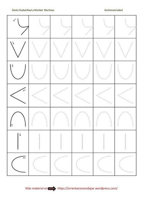 ejercicios de grafomotricidad con trazos curvos para ejercicios de grafomotricidad para ni 241 os formas sencillas