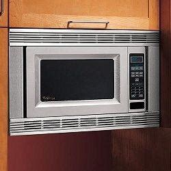whirlpool mkxps   countertop microwave oven trim