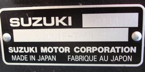 Suzuki Corporation Japan 2007 30 Hp Suzuki Shaft 4 Stroke Outboard