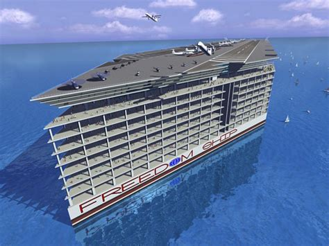 huge boat there s a 10 billion plan to house 40 000 people on a