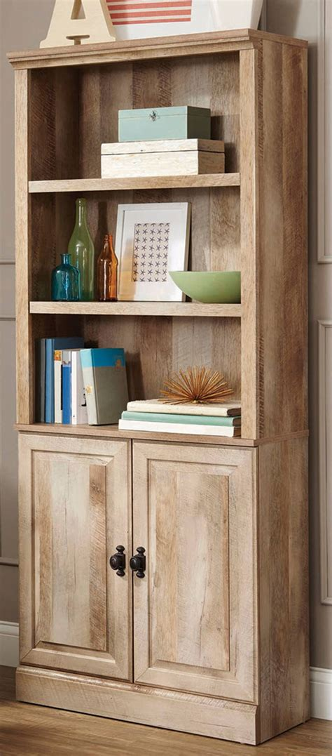 17 best ideas about bookcase with glass doors on