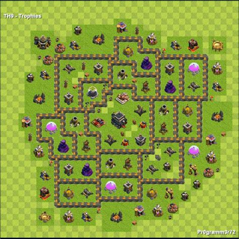 layout batman cv 9 centro da vila nivel 9 melhor layout clash of clans dicas