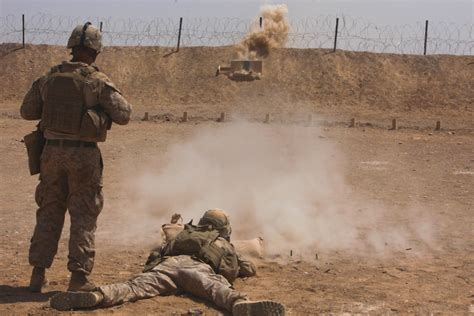 marines section 8 marines with 81 mm mortar section 2nd battalion 8th