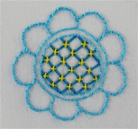 couching stitch embroidery big b 100 stitches trellis or jacobean couching stitch