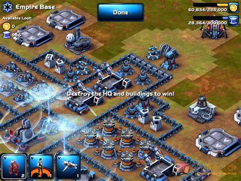 layout manager star wars commander star wars commander caign ii mission 54 base