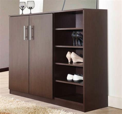 gambar lemari rak sepatu minimalis furniture rumah