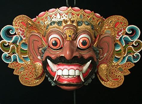 Topeng Airbrush 10 facts about balinese masks fact file