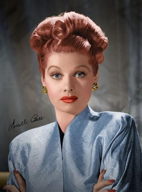 lucy ball vintage hair inspiration lucille ball