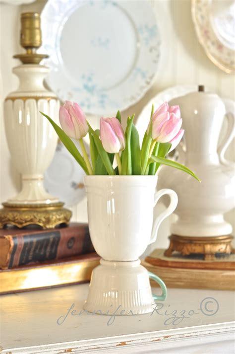 make a vintage tea cup vase rizzo