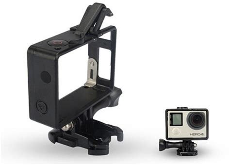 Frame Gopro 4 aliexpress buy gopro accessories style frame mount