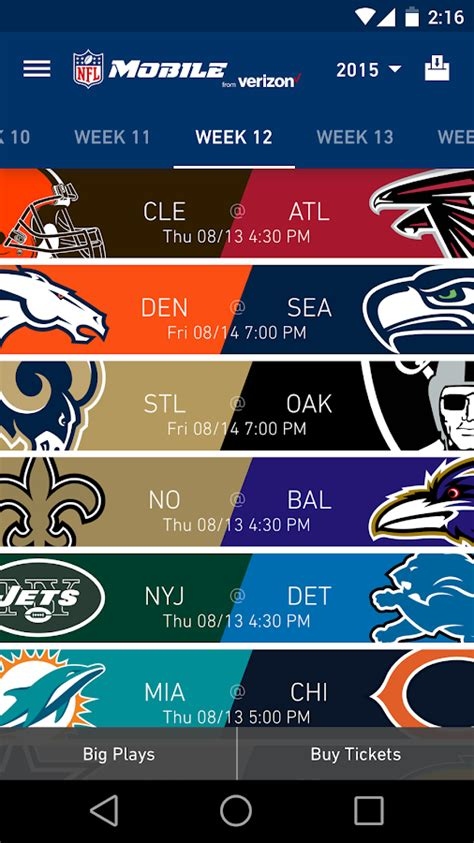 nfl mobile scores nfl mobile android apps on play
