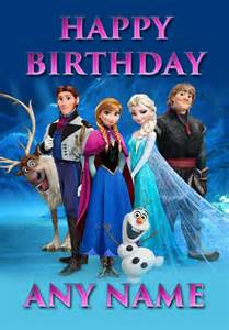 happy birthday animated frozen cards to download