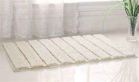 westbrook high pile microfiber bath rug from home goods galore