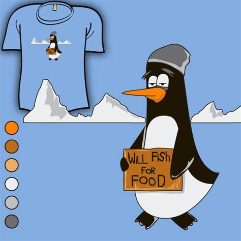 Save The Penguin shirt woot