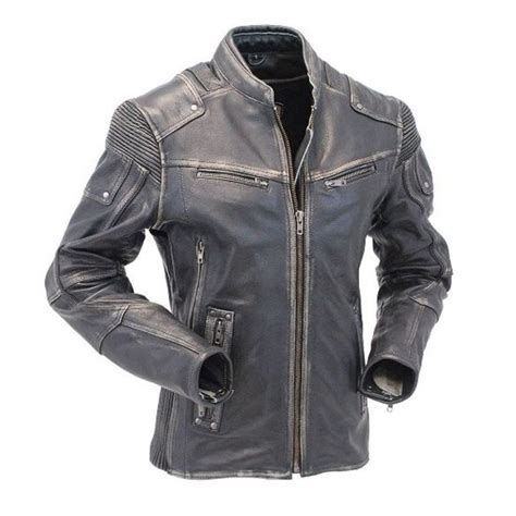 buy motorcycle jackets buy motorcycle cafe racer vintage distressed leather jacket