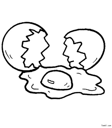 fried egg coloring page free coloring pages of fried egg