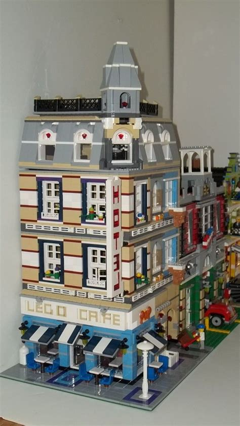 lego hotel tutorial top 25 ideas about legos moc instructions on pinterest