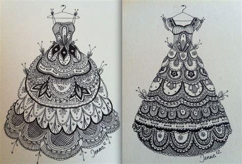 zentangle pattern lace lace dresses zentangle by jenna mancini zentangle