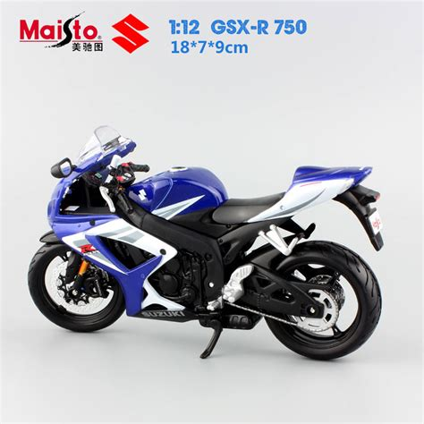 Model Motor Suzuki 1 12 Quality Mini Mini Motorcycle Suzuki Gsx R 750 ᗛ