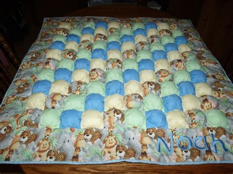 Biscuit Quilt Pattern by Smith Creations Biscuit Quilt Baby Puff Quilt Baby