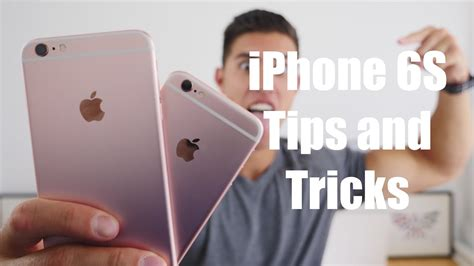 top iphone 6s and tricks