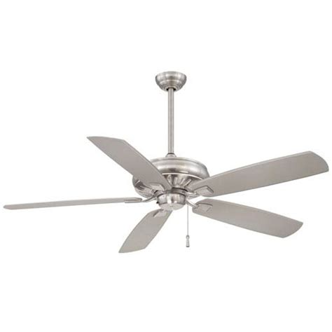 60 inch brushed nickel ceiling fan minka aire sunseeker 60 inch ceiling fan in brushed nickel