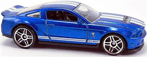 Hotwheels 10 Ford Shelby Gt500 White 2015 10 ford shelby gt500 71mm 2010 wheels newsletter