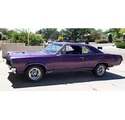 This Is My Dream Car Purple 67 GTO  Pinterest