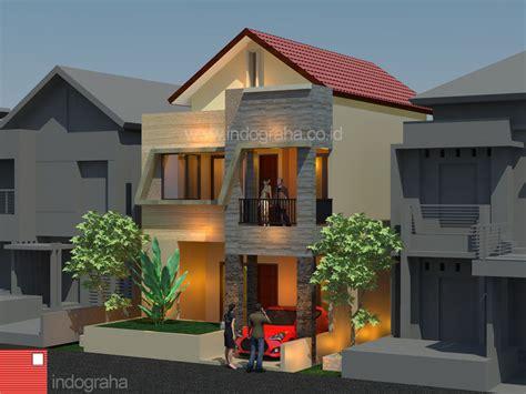 desain renovasi rumah minimalis  lantai  cilangkap cipayung jakarta timur indograha arsitama