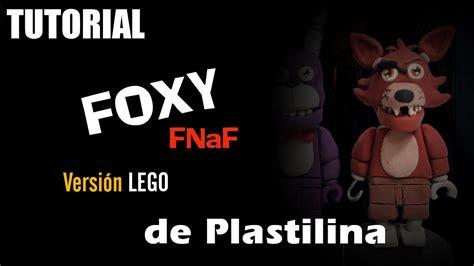 lego foxy tutorial tutorial foxy fnaf version lego de plastilina clay youtube