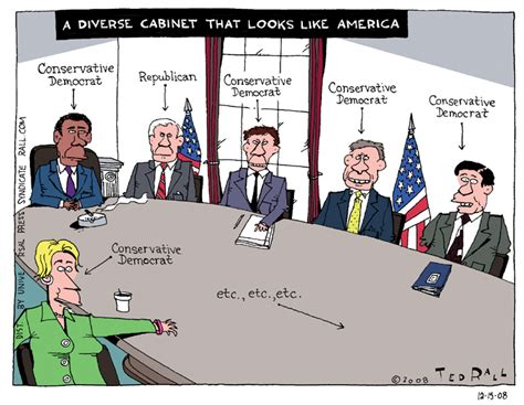 What Is A Cabinet In Politics a diverse cabinet that looks like america ted rall s
