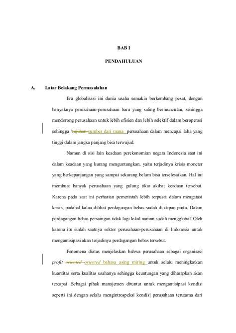 format laporan analisis jurnal contoh analisis ekonomi mikro yang ada di masyarakat