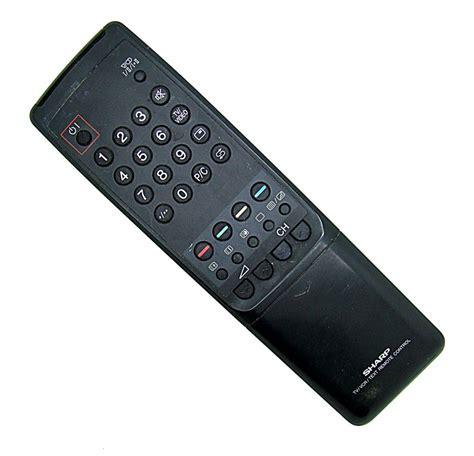 Remote Tv Sharp Original Original Sharp G1023bmsa Tv Vcr Remote Onlineshop For Remote Controls