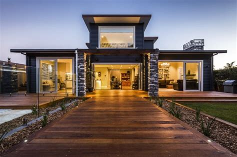Movievilla In by Home Design Blog Nz Low Impact Offset Shed House Is A