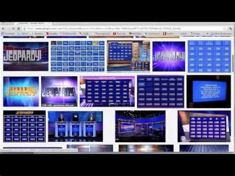 Powerpoint Jeopardy Tutorial Youtube Jeopardy Theme Song For Powerpoint
