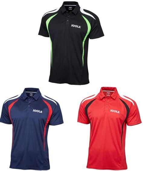 joola table tennis clothing joola squadra table tennis shirt