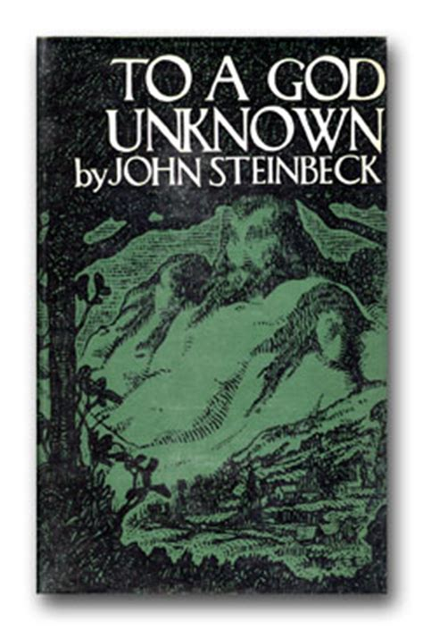 unknown a novel books to a god unknown steinbeck