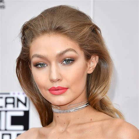 what hair conditioner does gigi hadid use the first gigi hadid american music awards 2016 beauty