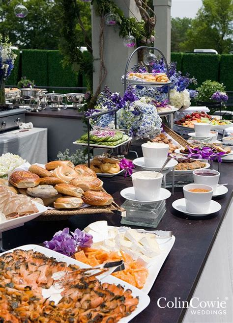 10 food station ideas guests will go crazy for brunch