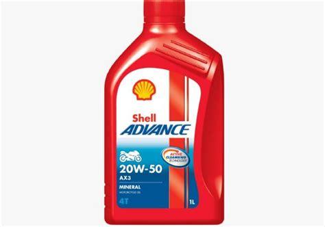 Oli Shell Advance Ax 3 6 Daftar Harga Oli Motor Shell Terbaru