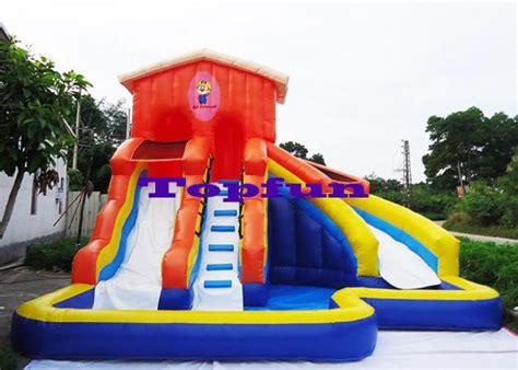 Kids Inflatable Water Slide Waterproof Backyard Bounce Backyard Bounce House